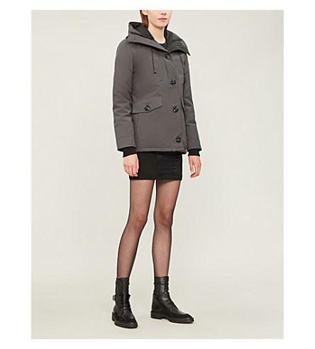 CANADA GOOSE Rideau padded parka jacket (Graphite
