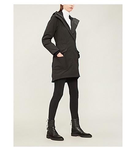 CANADA GOOSE Kinley twill padded parka coat (Black