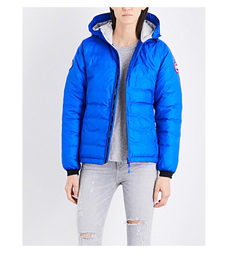 CANADA GOOSE Camp shell down jacket (Royal+pbi+blue