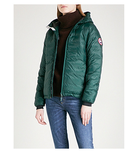 CANADA GOOSE Camp hooded quilted jacket (Algonquin+green