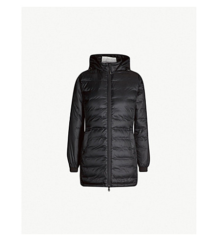 CANADA GOOSE Camp hooded quilted shell jacket (Black black