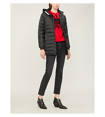 CANADA GOOSE Camp quilted jacket (Black/black