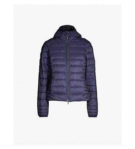 CANADA GOOSE Brookvale quilted shell jacket (Admiral blue / black