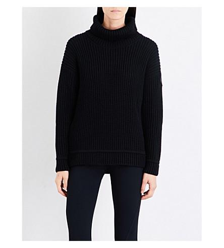 CANADA GOOSE Williston turtleneck merino wool jumper (Black