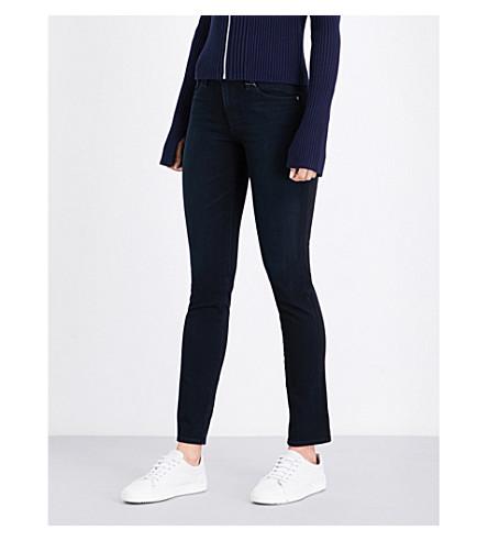 AG Prima cigarette mid-rise jeans (Rhode+blue