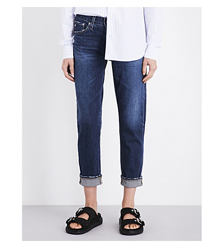 AG The Ex-Boyfriend cropped mid-rise jeans (10+years+dynamite