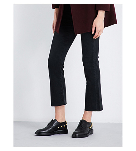 AG Jodi cropped high-rise jeans (3+years+obsidian