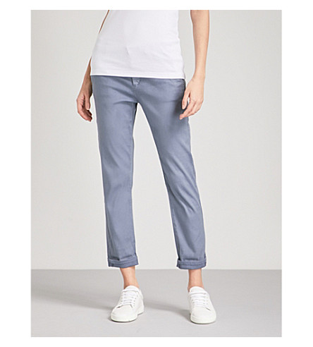 AG The Caden stretch-twill trousers (Sulfur+dolphin+blue