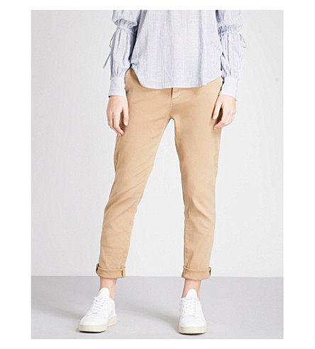 AG The Caden stretch-twill trousers (Sulfur+silica+sand