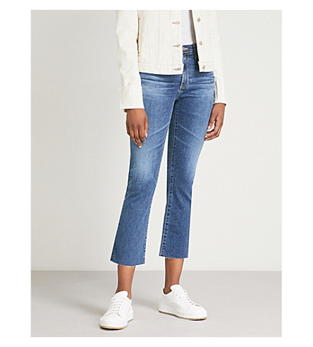 AG Jodi cropped slim-fit high-rise jeans (10 years cambria