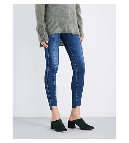 AG Farrah skinny mid-rise jeans (10+years+rhythmic+blue