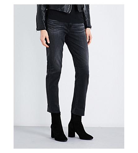 AG The Ex-Boyfriend cropped mid-rise jeans (10+years+generation