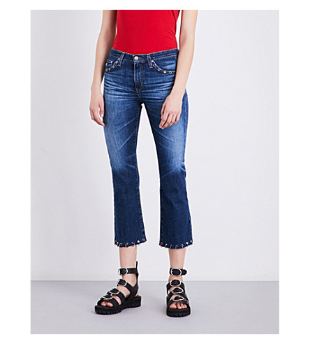 AG Jodi cropped high-rise jeans (10+years+ringer