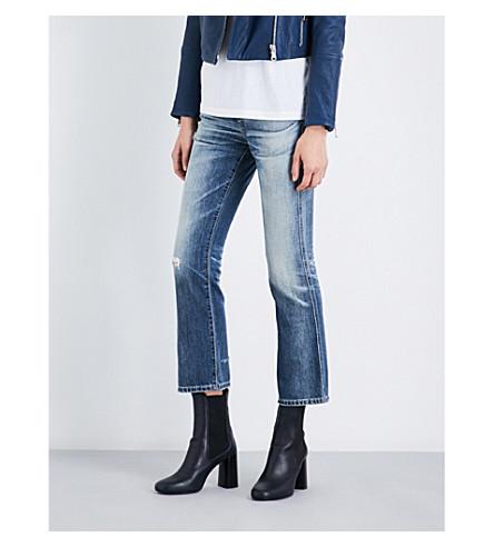 AG Jodi skinny mid-rise jeans (23+years+wind+worn
