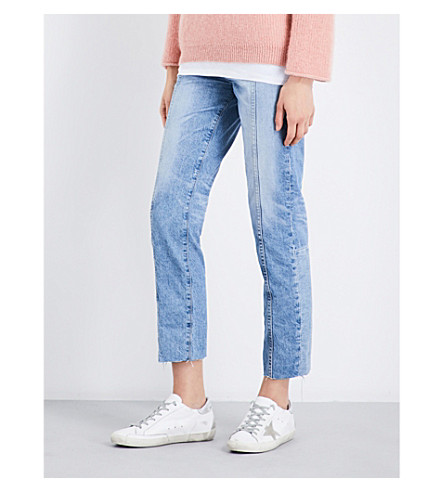 AG The Phoebe straight mid-rise jeans (18+years+vaulted