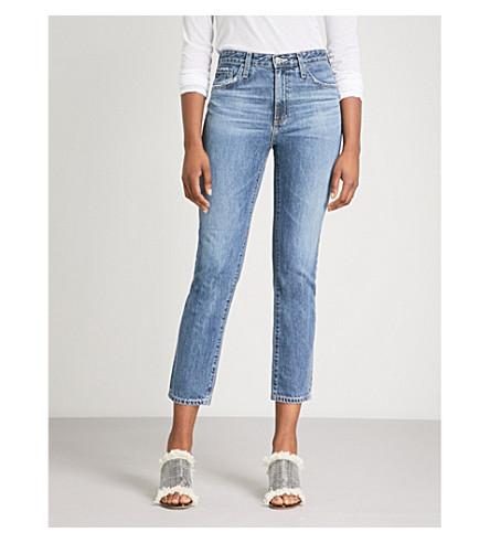 de jeans rectos Isabelle altura gran wave AG Crashing tUqzx4n