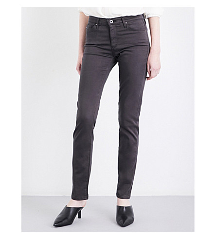 AG Prima cigarette mid-rise jeans (Cavern