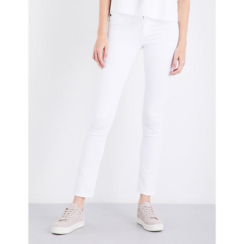 AG JEANS   Prima Cigarette Mid-Rise Jeans   Goxip