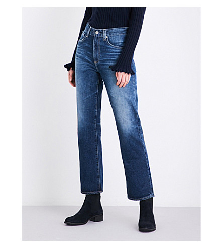 AG The Rhett straight high-rise jeans (11+years+jubilee