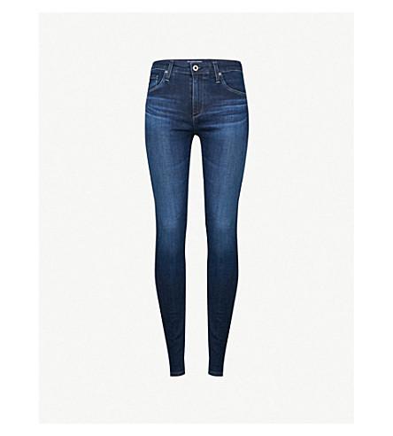 AG Farrah skinny high-rise jeans (Paradox