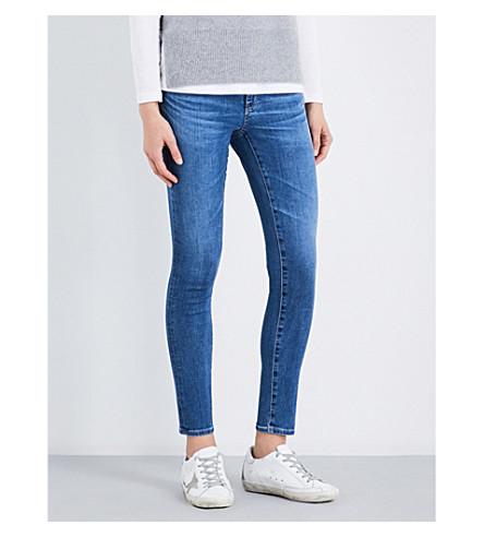 AG The Legging skinny mid-rise jeans (Hiatus