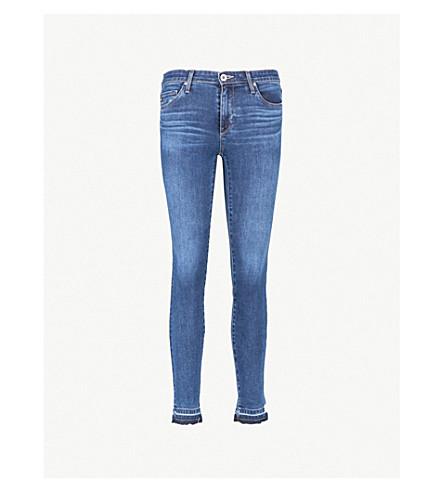 AG The Legging super-skinny low-rise jeans (Seven seas