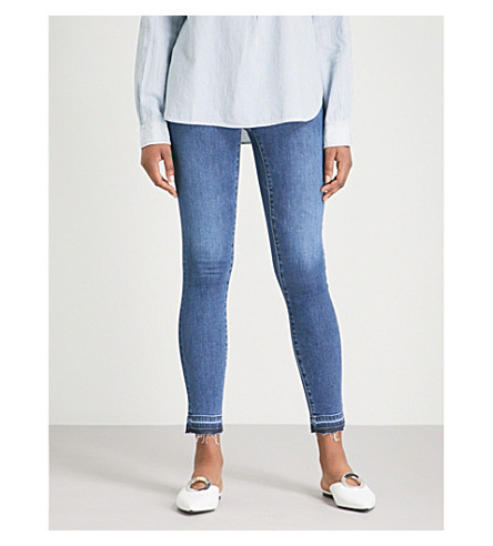 AG The Legging super-skinny low-rise jeans (Seven seas