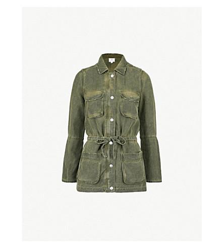 AG Carson woven jacket (Sulfur+desert+pine