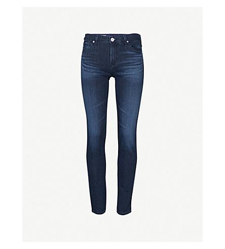 AG The Prima cigarette mid-rise jeans (Gallant