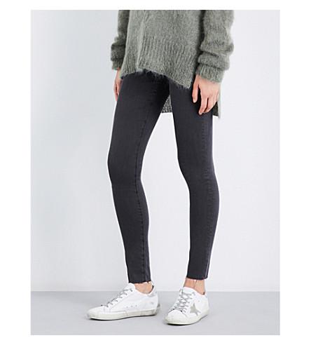 AG The Mila skinny mid-rise jeans (Interstellar+black