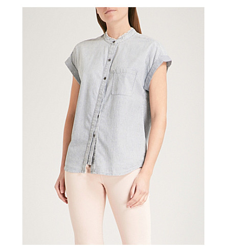 AG Liza striped cotton shirt (Loft