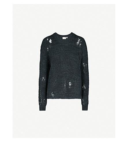 AG Finn cotton jumper (Speckled+midnight+sky