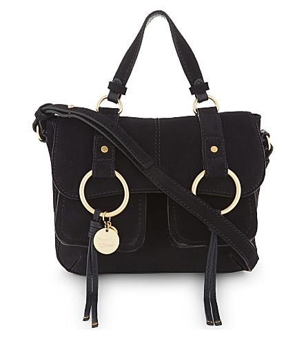 SEE BY CHLOE Filipa leather satchel bag (Ultra+marine