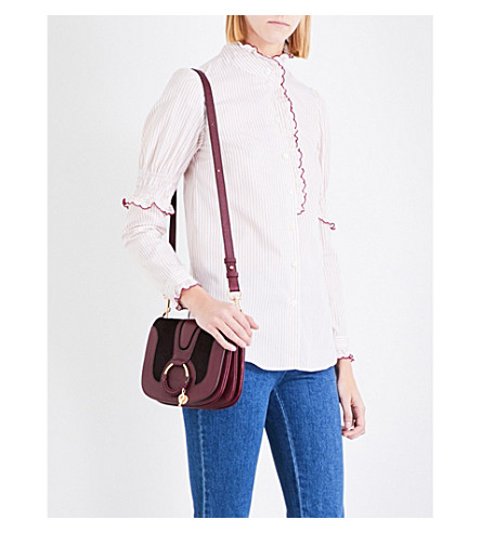 SEE BY CHLOE Striped cotton shirt (Beige