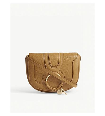 SEE BY CHLOE Hana mini leather cross-body bag (Foxy+brown