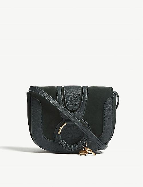 SEE BY CHLOE Mini Hana suede leather shoulder bag