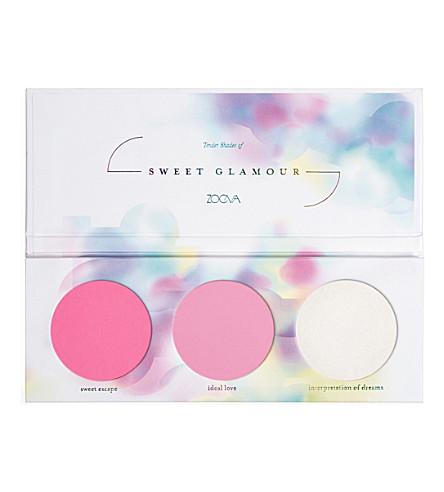 ZOEVA Sweet Glamour Blush Palette
