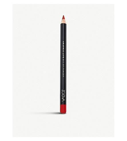ZOEVA Graphic lips lip liner 1.2g (Bit+of+danger