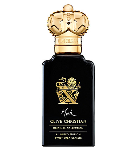 CLIVE CHRISTIAN X Myrrh Twist perfume spray 50ml