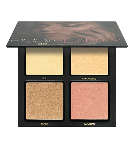 HUDA BEAUTY Golden Sands 3D Highlighter Palette (Gold