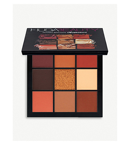 HUDA BEAUTY Warm Brown Obsessions Palette (Warm brown essentials
