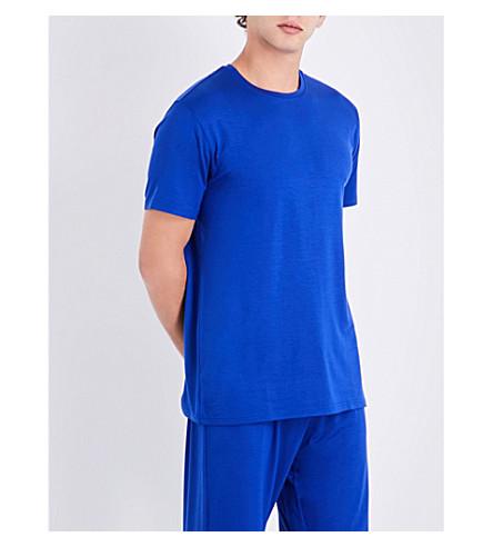 DEREK ROSE Crewneck jersey T-shirt (Brt+blue