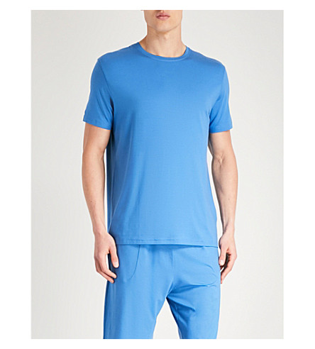 Basel DEREK azul Camiseta ROSE camiseta 4Zwq7B