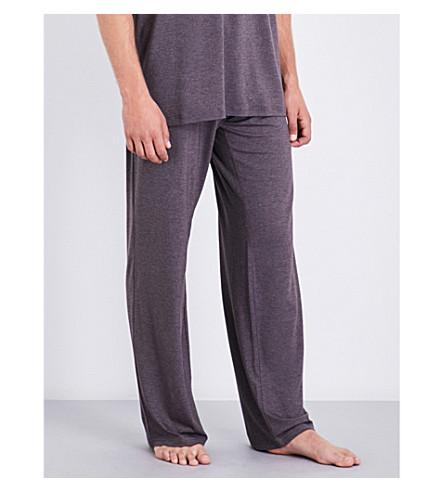 DEREK ROSE Marlowe stretch-jersey pyjama bottoms (Brown