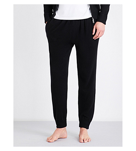 DEREK ROSE Finley cashmere pyjama bottoms (Black