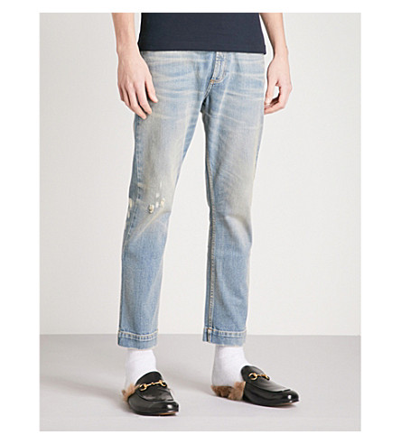 GUCCI 60s regular-fit straight jeans (Blue