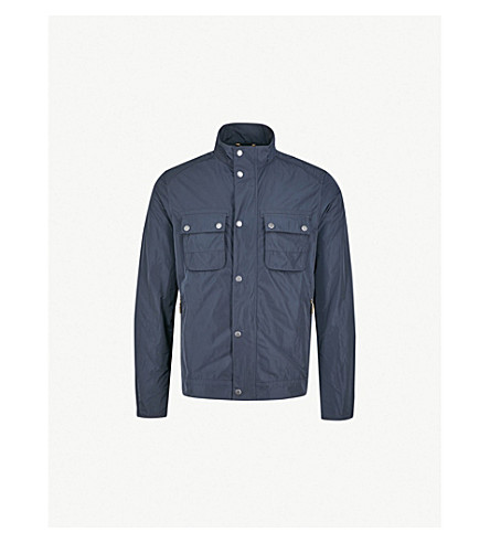 BARBOUR Stannington shell jacket (Navy