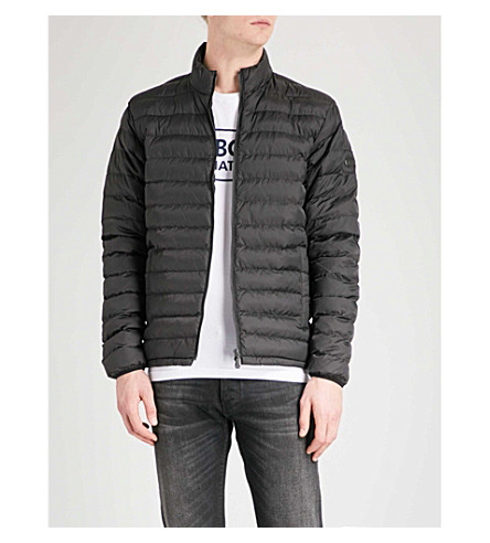 BARBOUR International Impeller quilted shell jacket (Black