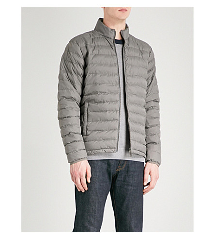 BARBOUR International Impeller quilted shell jacket (Grey