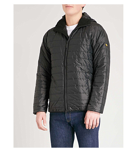 BARBOUR B.Intl Level quilted shell jacket (Black